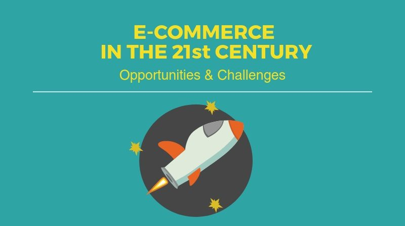 e-commerce infographic by QIVOS